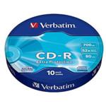 Оптический привод Verbatim Диск CD-R 700Mb 52x bulk (10шт)