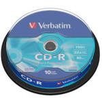 Оптический привод Verbatim Диск CD-R 700Mb 52x Cake Box (10шт)