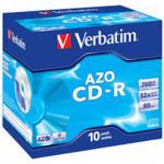 Оптический привод Verbatim Диск CD-R 700Mb 52x Jewel case (10шт)