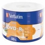 Оптический привод Verbatim Диск DVD-R 4.7Gb 16x bulk (50шт)