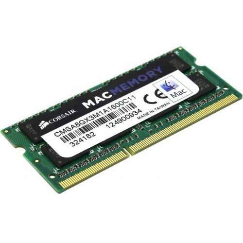 ОЗУ Corsair DDR3L 8Gb 1600MHz (CMSA8GX3M1A1600C11)
