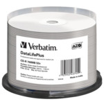 Оптический привод Verbatim Диск CD-R 700Mb 52x Cake Box (50шт)
