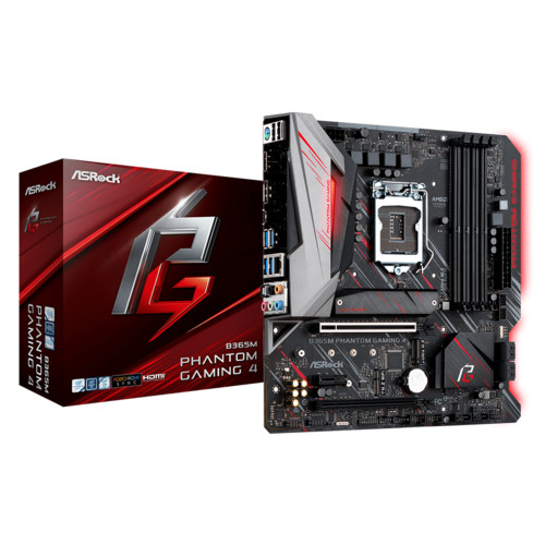 Материнская плата ASRock B365M Phantom Gaming 4 (B365M PHANTOM GAMING 4)