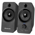 Аудиоколонка Defender Акустическая система 2.0 SPK-190 BLACK 65190