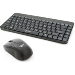 Клавиатура + мышь Gembird Комплект мини кл-ра+мышь беспров. KBS-7004