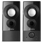 Аудиоколонка Sven 357, чёрный, USB, акустическая система 2.0