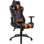 Компьютерная мебель Aerocool AC120 AIR Black/Orange