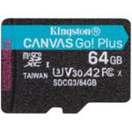 Флеш (Flash) карты Kingston 64GB microSDXC Canvas Go Plus