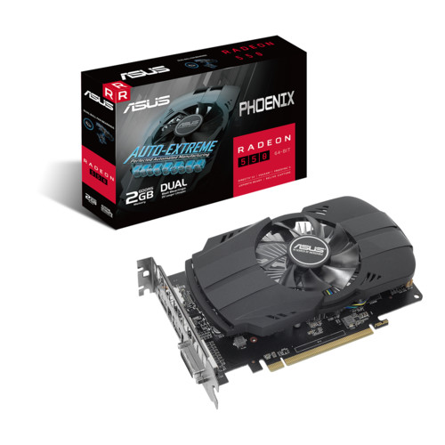 Видеокарта Asus Phoenix Radeon 550 2GB GDDR5 (PH-550-2G)