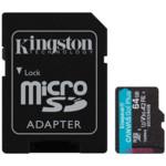 Флеш (Flash) карты Kingston Карта памяти Kingston SDCG3/64GB