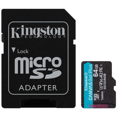 Флеш (Flash) карты Kingston Карта памяти Kingston SDCG3/64GB (1309217)