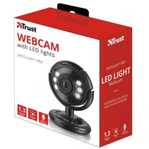 Веб камеры Trust SpotLight Pro чёрный (TR16428)