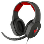 Наушники Genesis ARGON 400 WITH MICROPHONE BLACK-RED (H59)