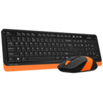 Клавиатура + мышь A4Tech FG-1010-ORANGE Fstyler