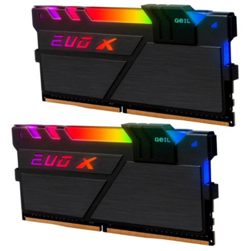 ОЗУ Geil 16GB DDR4 PC4-19200 2400MHz (GEXSB416GB2400C16DC)