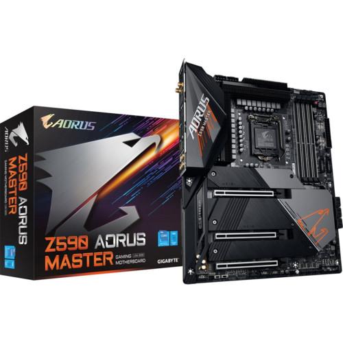 Материнская плата Gigabyte Intel Z590 (Z590 AORUS MASTER)