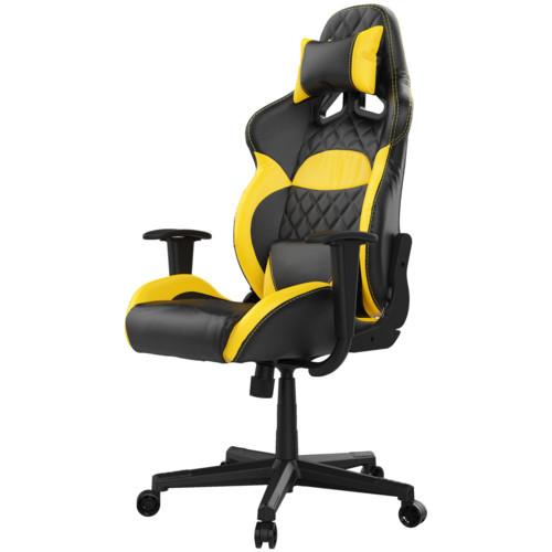 Компьютерная мебель Gamdias Игровое кресло ZELUS E1 L BY Черно-желтый (1305470)