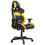 Компьютерная мебель Gamdias Игровое кресло ZELUS E1 L BY Черно-желтый
