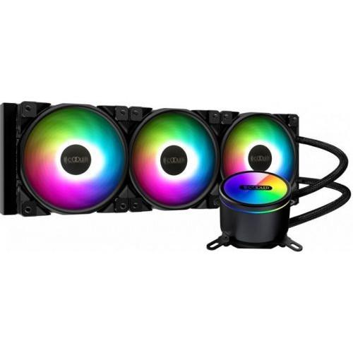 Охлаждающая подставка PCcooler GI-CX360-ARGB (GI-CX360-ARGB)