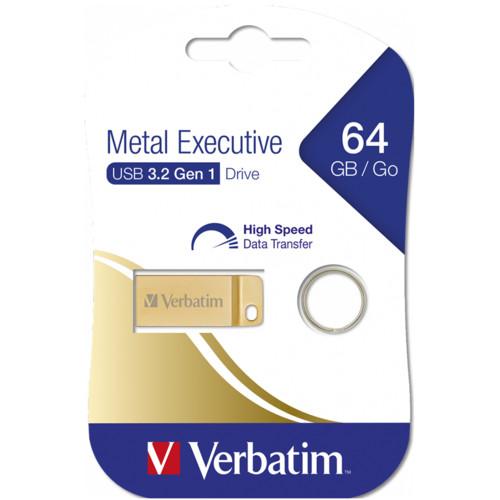 USB флешка (Flash) Verbatim Metal Executive (99106)