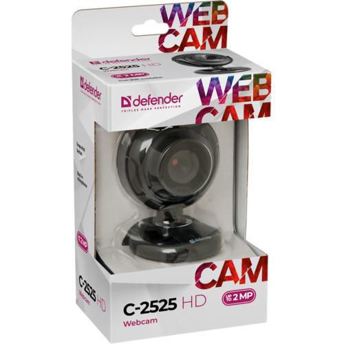 Веб камеры Defender G-lens C-2525HD Black 2МП (63252#)