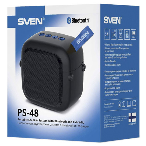 Аудиоколонка Sven PS-48 (SV-019754)