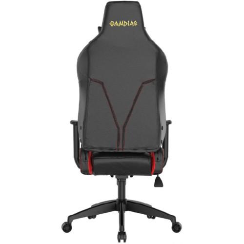 Компьютерная мебель Gamdias Игровое компьютерное кресло ACHILLES E1 L BR Red (1280838)