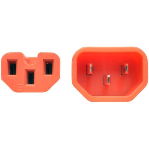 Кабель питания Tripp-Lite Кабель питания C14 to C15 Orange (P018-006-AOR)