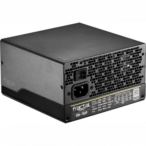 Блок питания FRACTAL DESIGN Ion+ Platinum 760W (FD-PSU-IONP-760P-BK-EU)