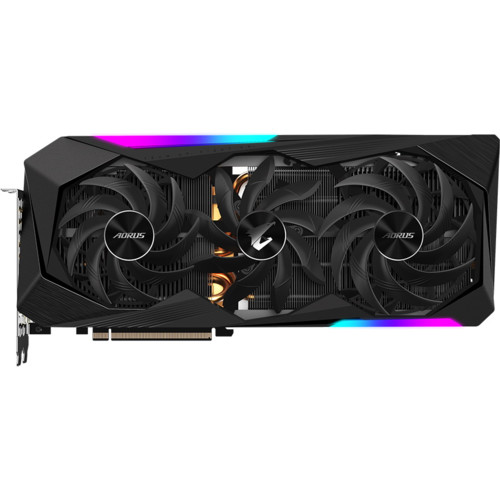 Видеокарта Gigabyte Radeon RX 6800 XT AORUS MASTER 16G (GV-R68XTAORUS M-16GD)