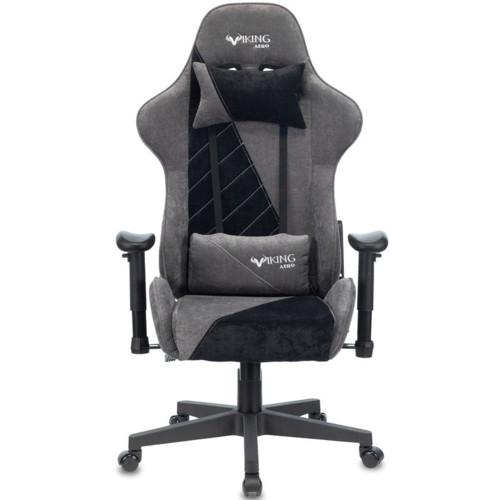 Компьютерная мебель Бюрократ Кресло Zombie Viking X Fabric GR/BK (VIKING-X-Fabric-GR/BK)