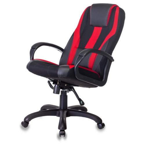 Компьютерная мебель Бюрократ Кресло Zombie VIKING-9 Black/Red (Z-VIKING-9-B/R)