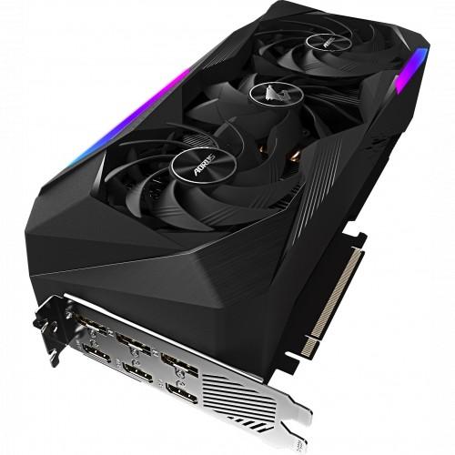 Видеокарта Gigabyte GeForce RTX 3070 Ti AORUS MASTER 8G (GV-N307TAORUS M-8GD) (GV-N307TAORUS M-8GD)