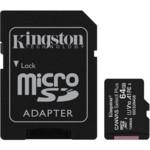Флеш (Flash) карты Kingston 64GB micro SDHC Canvas Select Plus
