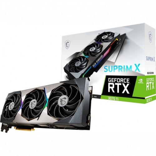 Видеокарта MSI GeForce RTX 3070 Ti SUPRIM X 8G (RTX 3070 TI SUPRIM X 8G)