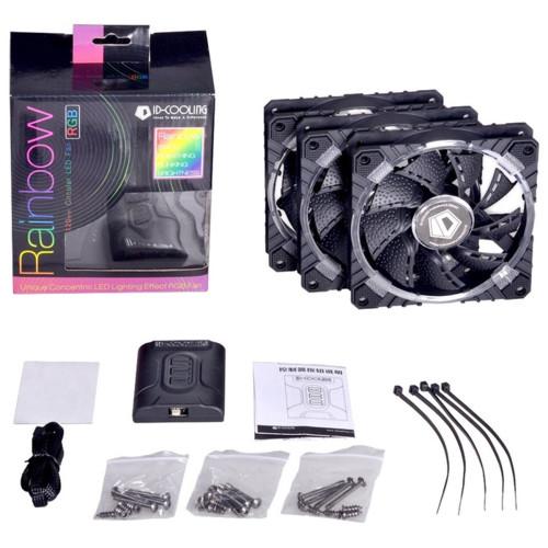 Охлаждение ID-Cooling Комплект вентиляторов для корпуса 3 шт. (RB-12025)