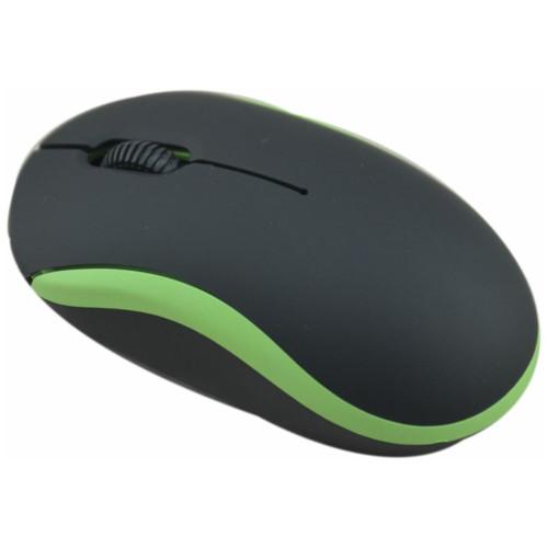 Мышь Ritmix ROM-111 BLACK/GREEN (15118307)