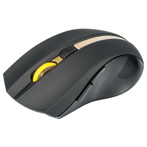 Мышь Oklick 495MW Black/Gold (495MW-GD)