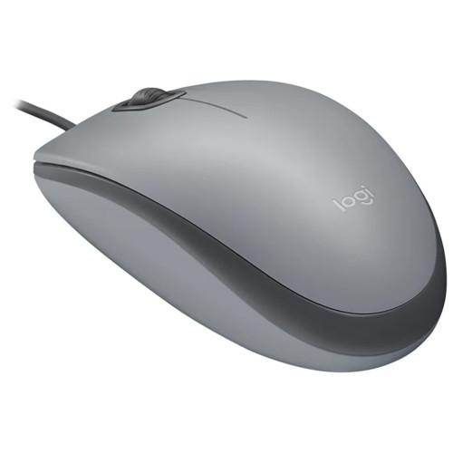 Мышь Logitech M110 Silent - MID GRAY (L910-005490)