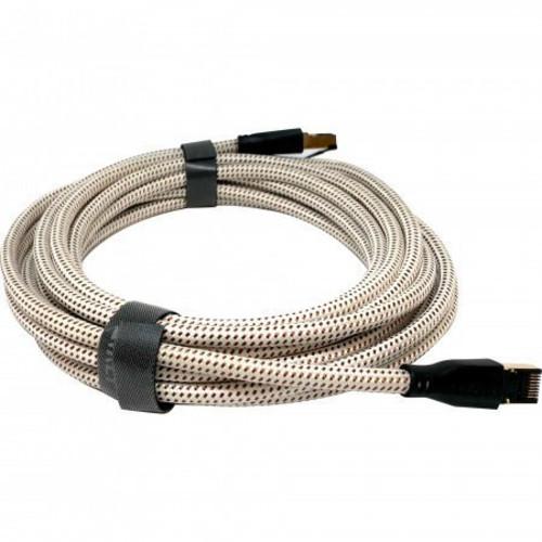 Кабель интерфейсный KEF K-Stream Ethernet 6M White/Gold (K-Stream/W-G-6)