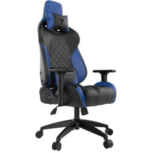 Gamdias Игровое кресло ACHILLES E1 Black/Blue (ACHILLES E1 L BB)