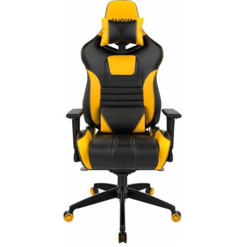 Gamdias Игровое кресло ACHILLES M1A Black/Yellow (ACHILLES M1A L BY)