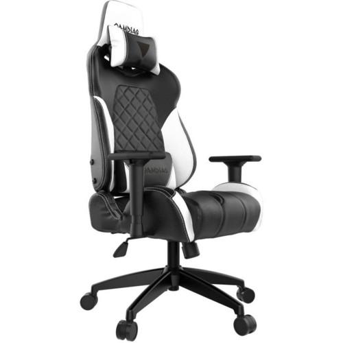 Gamdias Игровое кресло ACHILLES E1 Black/White (ACHILLES E1 L BW)
