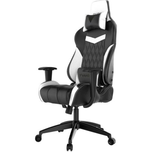 Gamdias Игровое кресло ACHILLES E2 Black/White (ACHILLES E2 L BW)