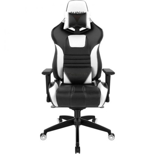 Gamdias Игровое кресло ACHILLES M1A Black/White (ACHILLES M1A L BW)