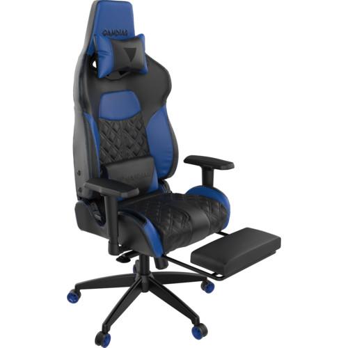 Gamdias Игровое кресло ACHILLES P1 L Black/Blue (ACHILLES P1 L BB)