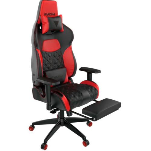 Gamdias Игровое кресло ACHILLES P1 L Black/Red (ACHILLES P1 L BR)