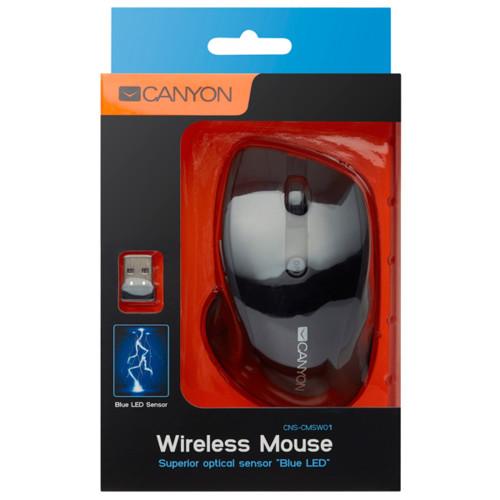 Мышь Canyon MW-01 (CNS-CMSW01B)
