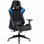Бюрократ Игровое кресло Zombie VIKING 4 AERO черный/синий