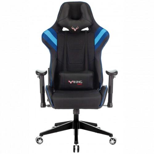 Бюрократ Игровое кресло Zombie VIKING 4 AERO черный/синий (VIKING-4-AERO-B/BL)